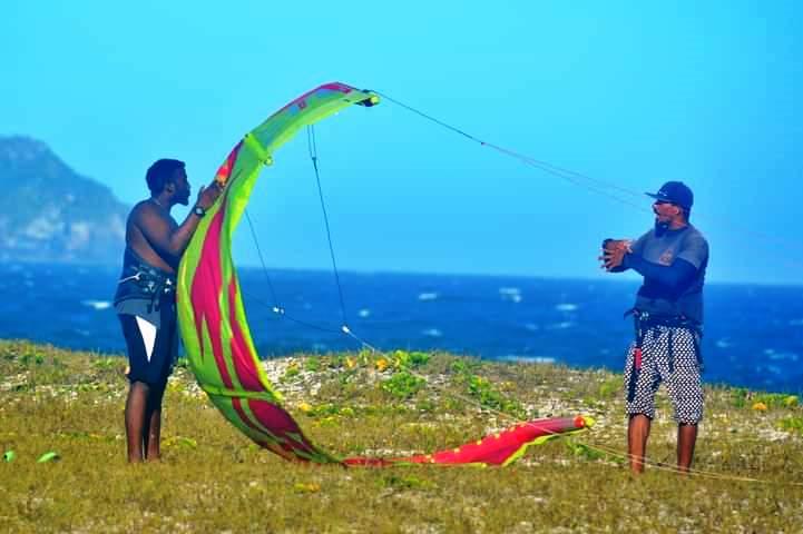 Kitesurf em Cabo Frio