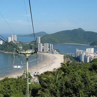 Tour de Praias: Santos / São Vicente / Guarujá