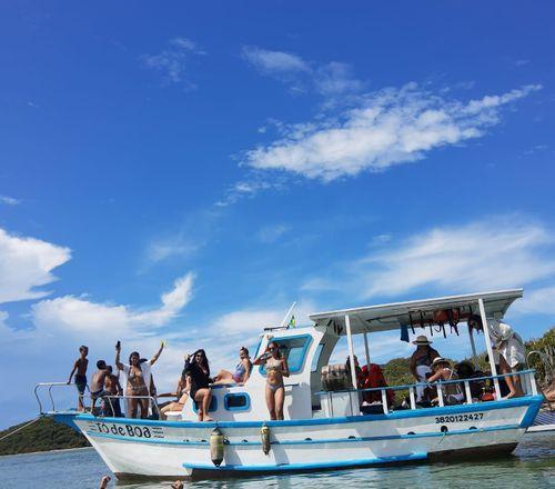 Passeio de Barco em Cabo Frio