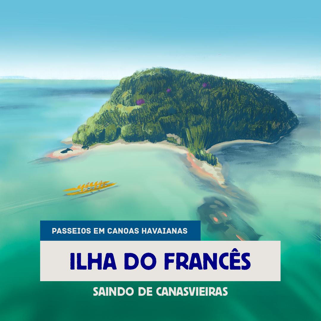 Ilha do Francês - Canasvieiras