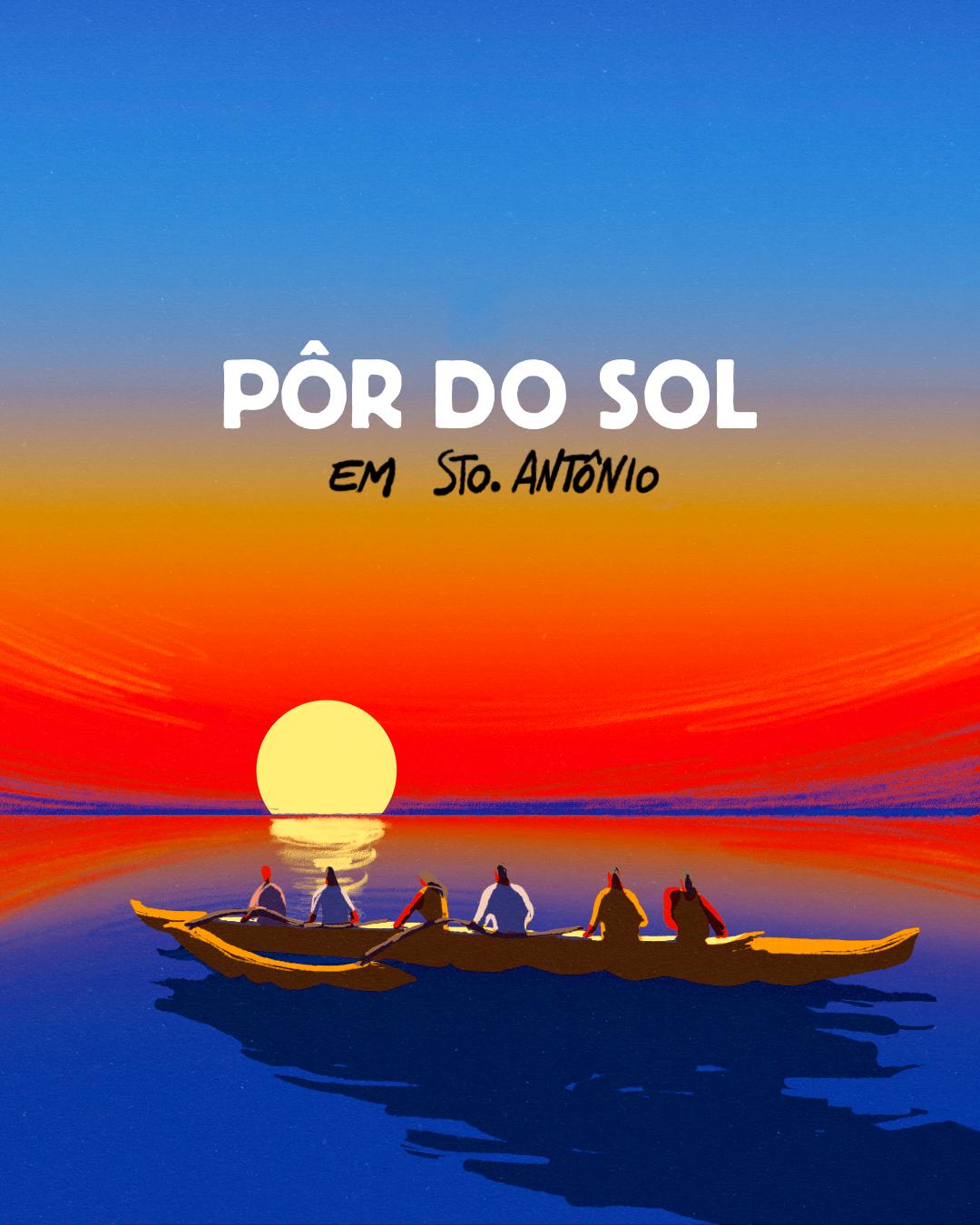 Por do Sol - Santo Antônio de Lisboa